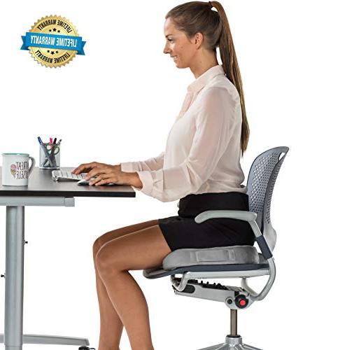 ComfiLife Cushion – Non-Slip Orthopedic Gel & Foam Coccyx Cushion for Pain – Sciatica & Relief