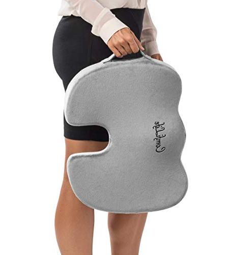 ComfiLife Gel Cushion Gel Coccyx Pain Office Chair Sciatica Relief