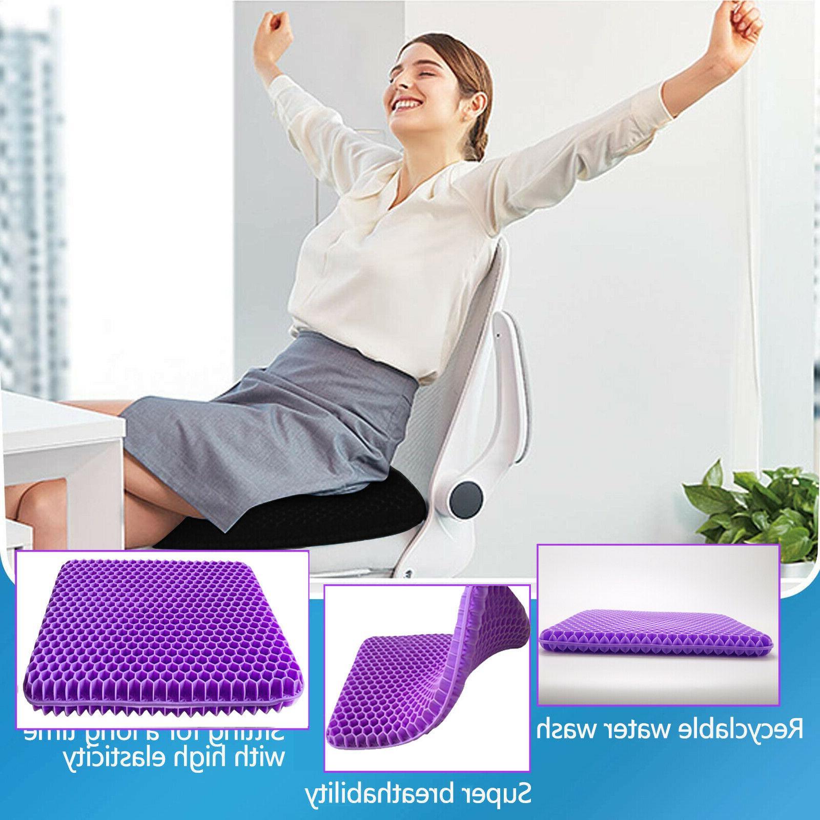 Gel Office Chair Cushion, Gel Seat for Wheelchair,