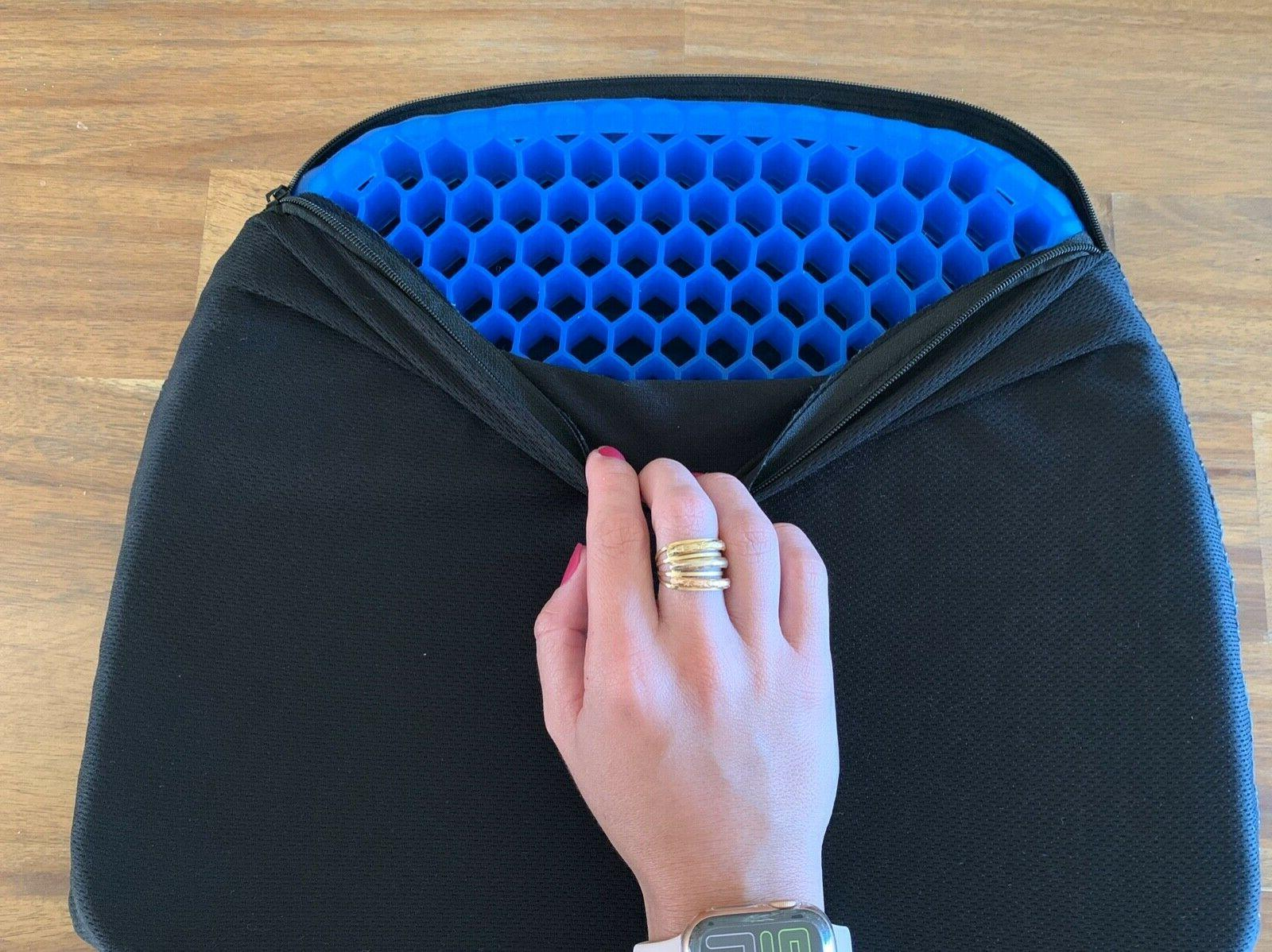 Sarayova Pad Seat Honeycomb Structured Back Support