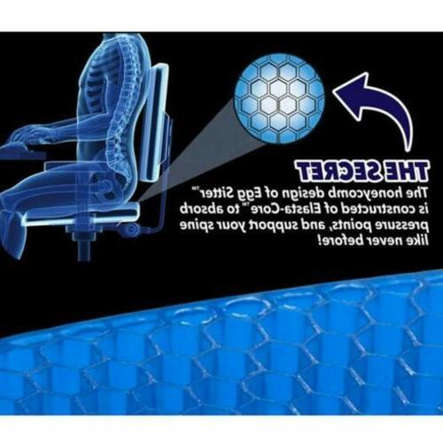 Gel Honeycomb Non-Slip Sciatica Gel Flex