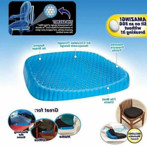 Gel Seat Honeycomb Non-Slip Gel Pillow