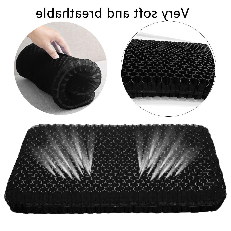 Gel Seat Egg Seat Cushion,Non-Slip Cover,Breathable Design