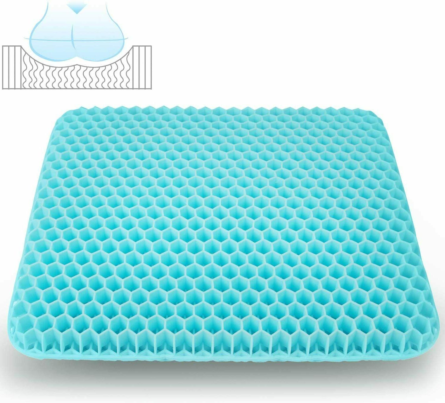 Gel Seat Cushion,Double Thick Design