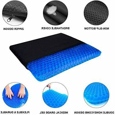 Gel Seat Chair Pads Cover For Home Office Car