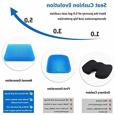 Gel Cushion, Chair Pads Cover For Home Office Car Honeyb