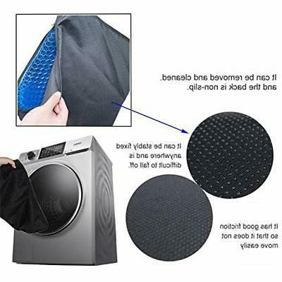 Gel Seat Cushion, Egg Seat Chair with Non-Slip Cover for Home Offic