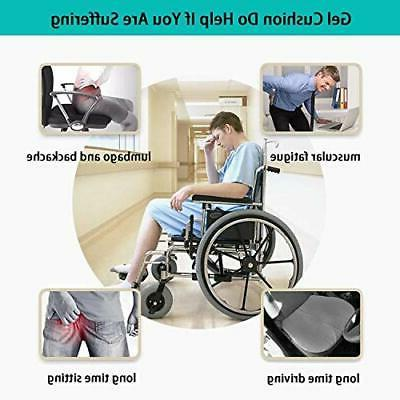 Gel Seat Cushion Chair Pads with Cover Home