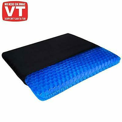 Gel Seat Cushion, Seat Chair with Non-Slip Cover for