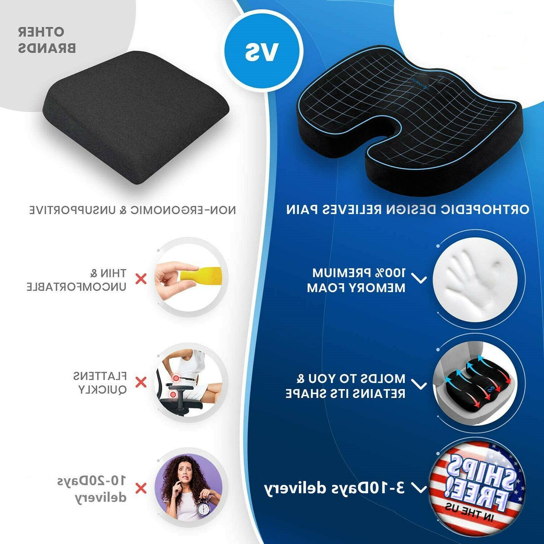 Enhanced Foam Pillow Chair Pad