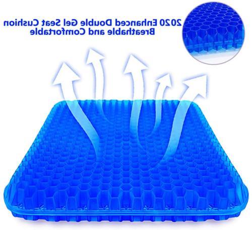 gel seat cushion enhanced office chair seat