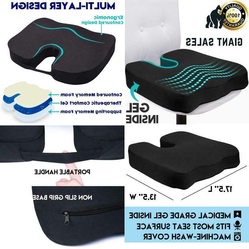 gel seat cushion for long sitting orthopedic