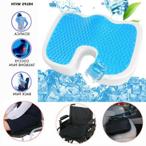 coccyx memory foam seat cushion w cooling
