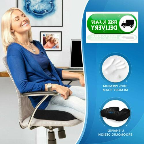 Gel Cover Breathable Seat Memory Pillow Desk