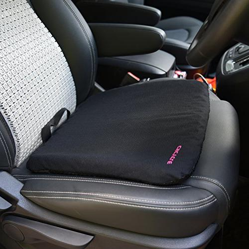 Gel Cushion Purple Design Excellent Back, Venting Car Sitter