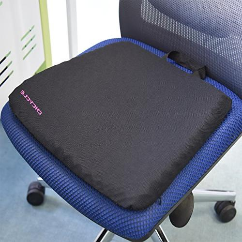 Gel Purple Design Pad Provides Excellent Support Lower Back, Promotes Venting Good Sitting Posture For Car Wheelchair