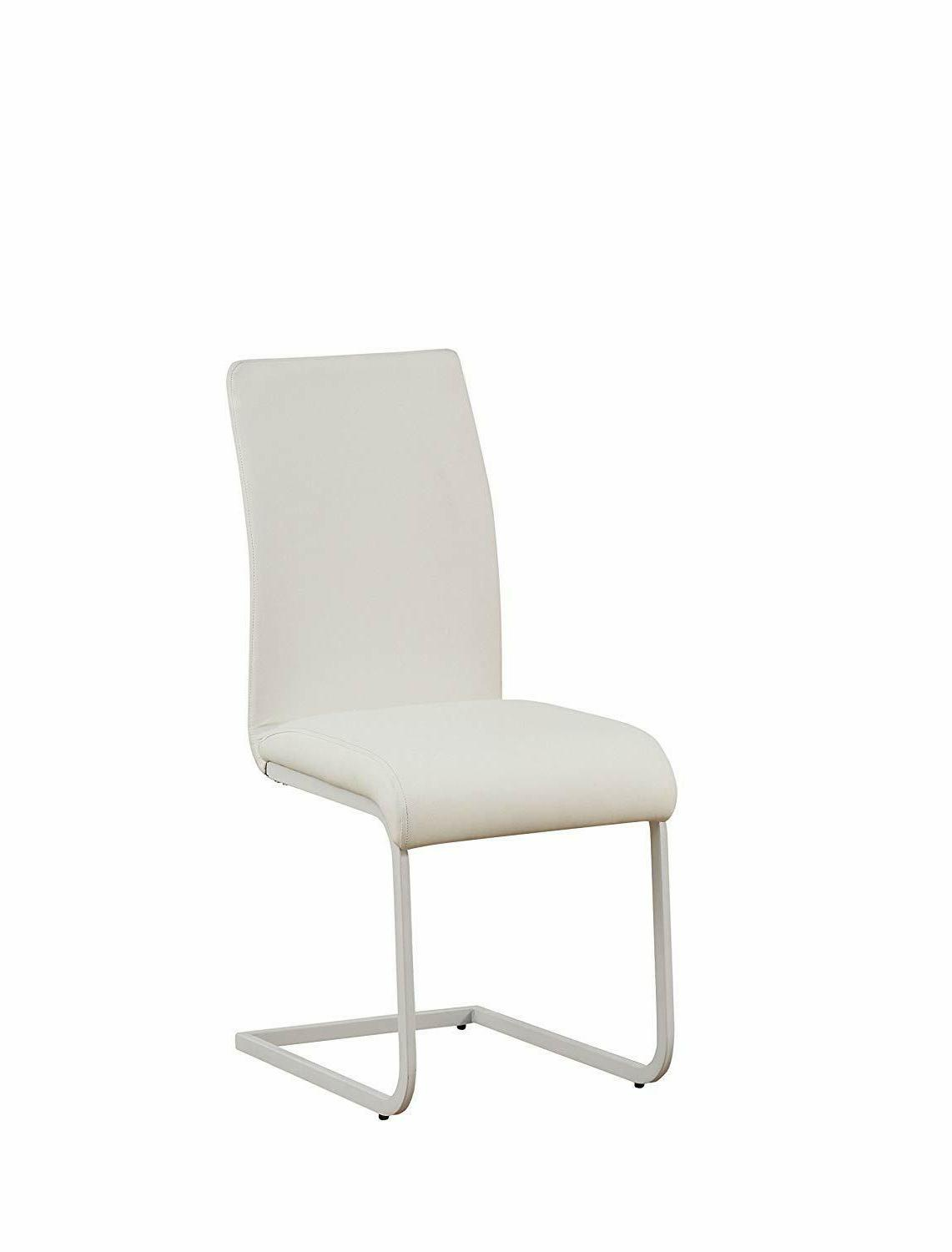 Gracie Faux Leather Seat Back Dining Side of