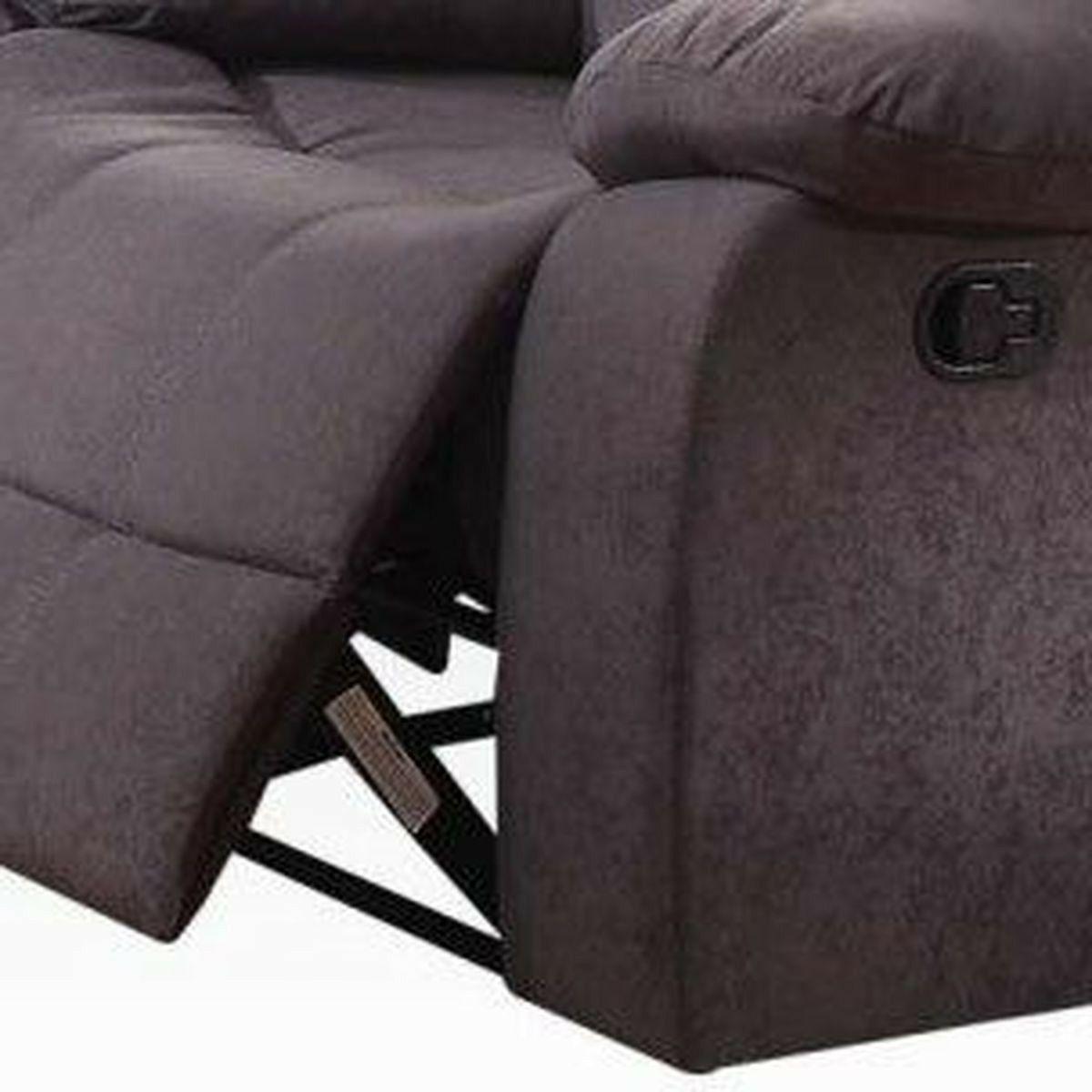 Gray Motion Set & Recliner Cushion Seat & 2pc Living