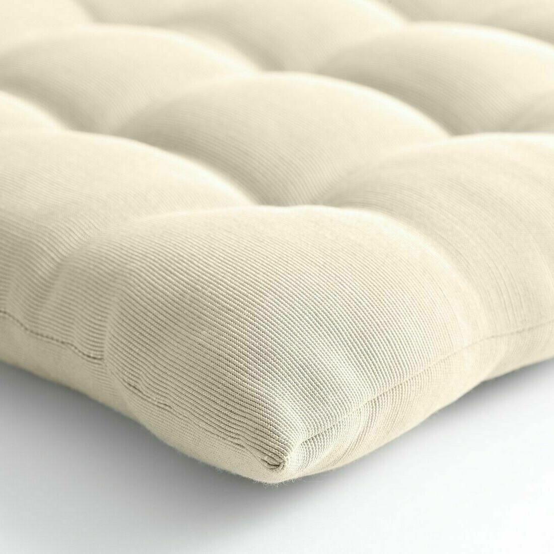 """IKEA HÅLLÖ HALLO / Back cushion outdoor beige 5/8x18 1/2"""" 702.600.75"""