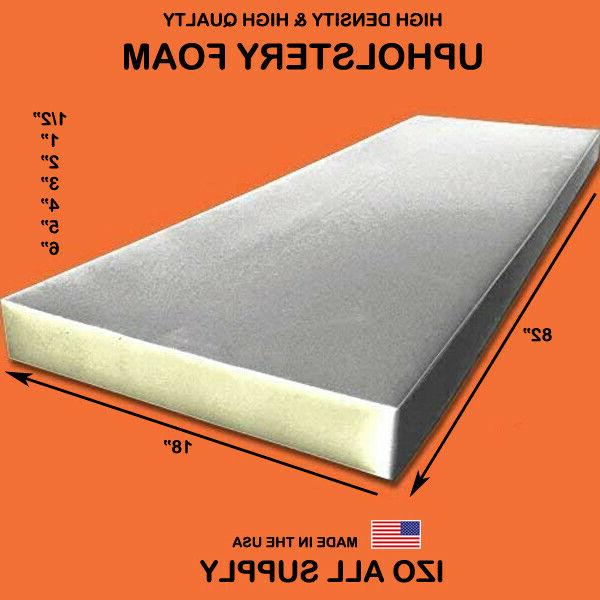high density seat foam cushion replacement upholstery