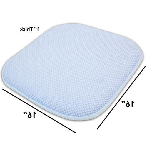 "Honeycomb Chair/Seat 16"" Foam Cushion Pack"