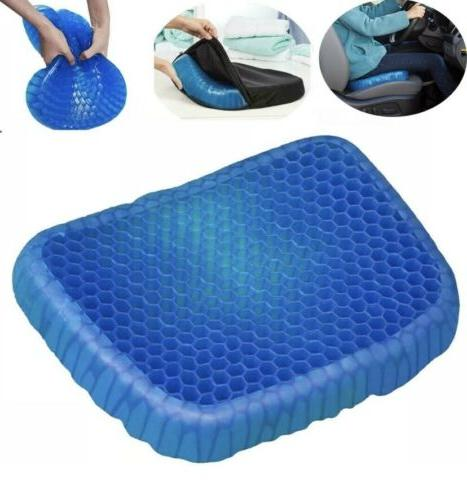 honeycomb gel cushion seat with black slip