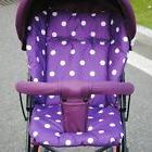 Hot Baby Stroller Seat Liner Polka Dot Infant Car Seat Dinin