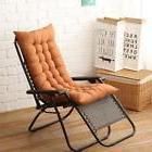 Hot Deck Chair Cushion Thick Outdoor Patio Backyard Garden L