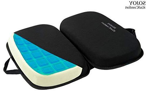 Sojoy 3 in 1 Gel Seat Cushion with Foam