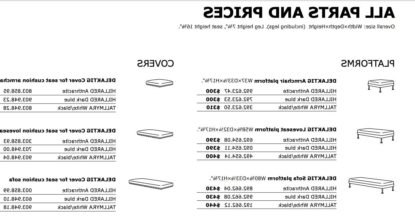 IKEA Delaktig Cushion 603.948.10 Dark
