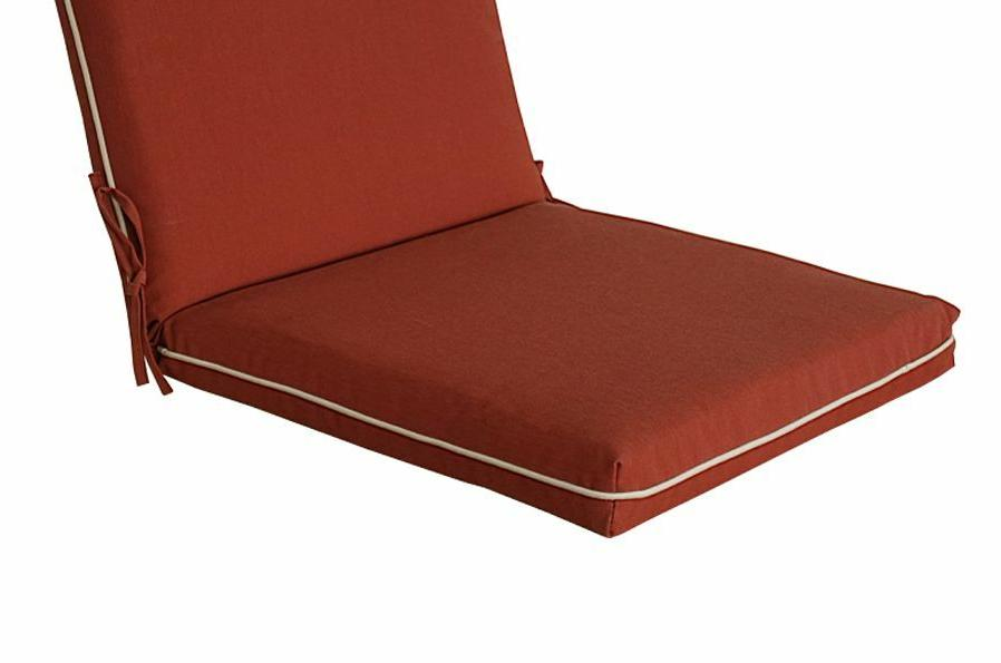 Bossima Outdoor/Indoor High Back Pad Red