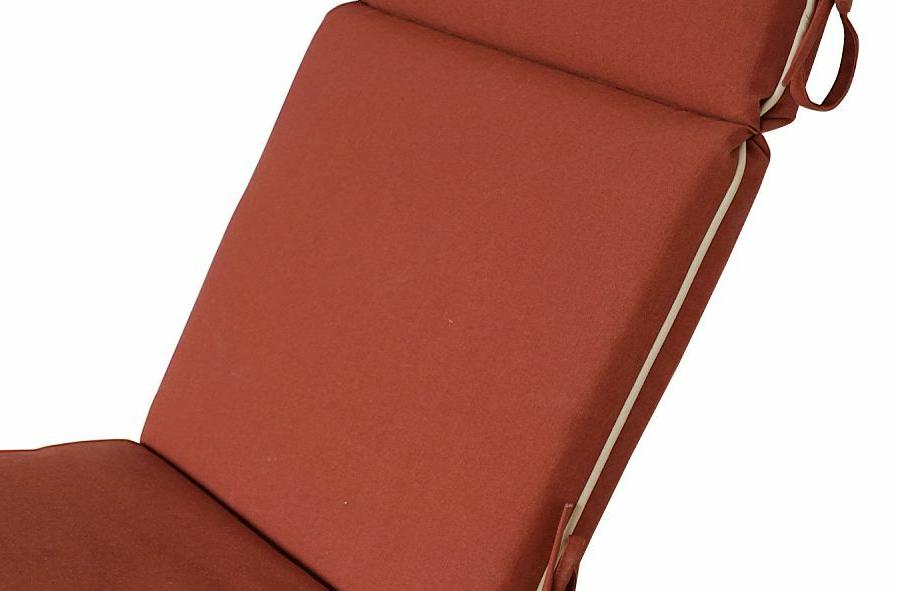 Bossima Outdoor/Indoor Cushions High Chair Seat Pad Red