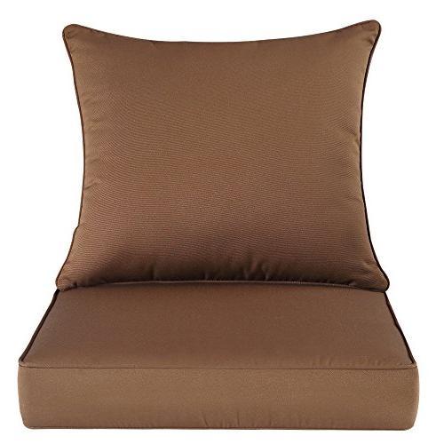 QILLOWAY Outdoor/Indoor Deep Seat for Patio