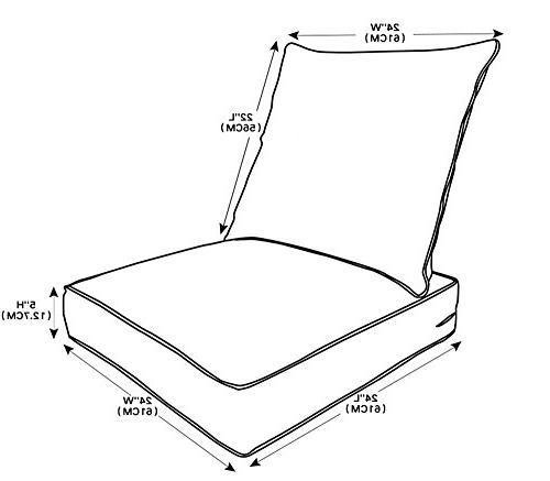 Chair Cushions Set,Replacement
