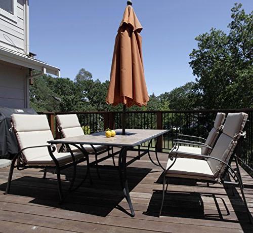 Bossima Indoor/Outdoor Light Khaki High Spring/Summer Seasonal Cushions.Set of
