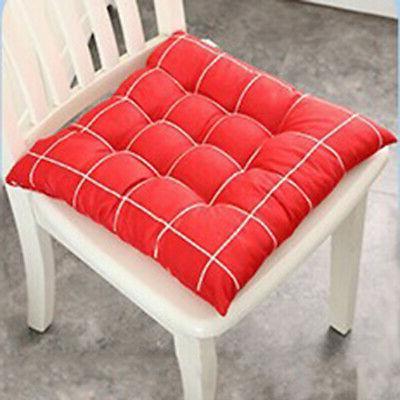 Plaid Seat Room Garden Tie Cushions Surprise