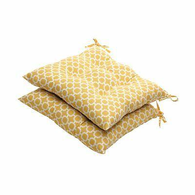 indoor outdoor geometric tufted seat cushion 19