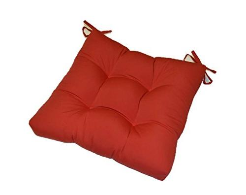 indoor solid red universal tufted