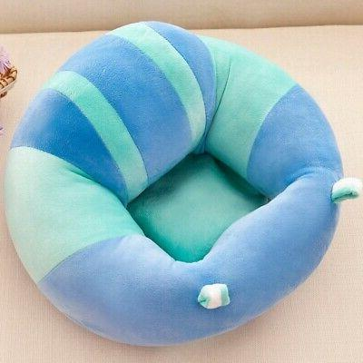 Kids Baby Support Chair Cushion Plush Learning Sit Chair Holder