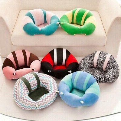 Infants Support Seat Soft Chair Cushion Sofa Plush Sitting US