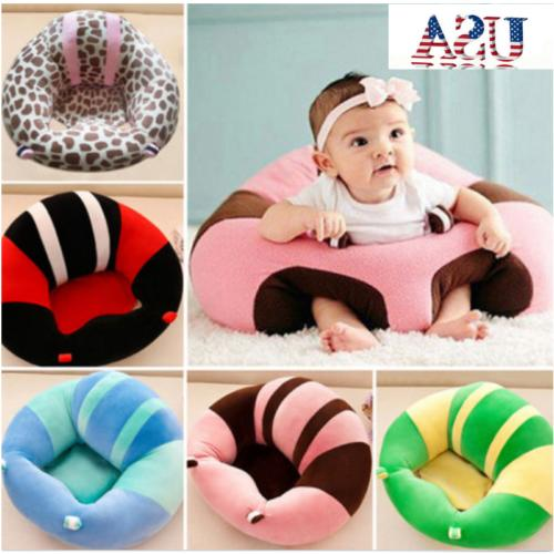 infants baby cotton support seat soft chair