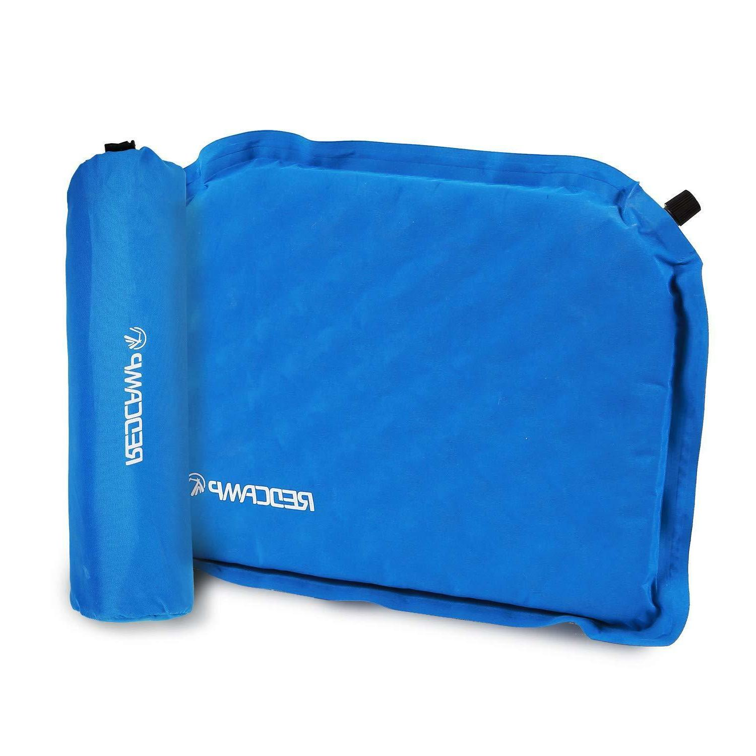inflatable sports seat cushion with storage bag