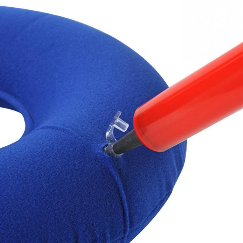 Inflatable Ring <font><b>Seat</b></font> <font><b>Cushion</b></font> Pillow Rubber 34*12