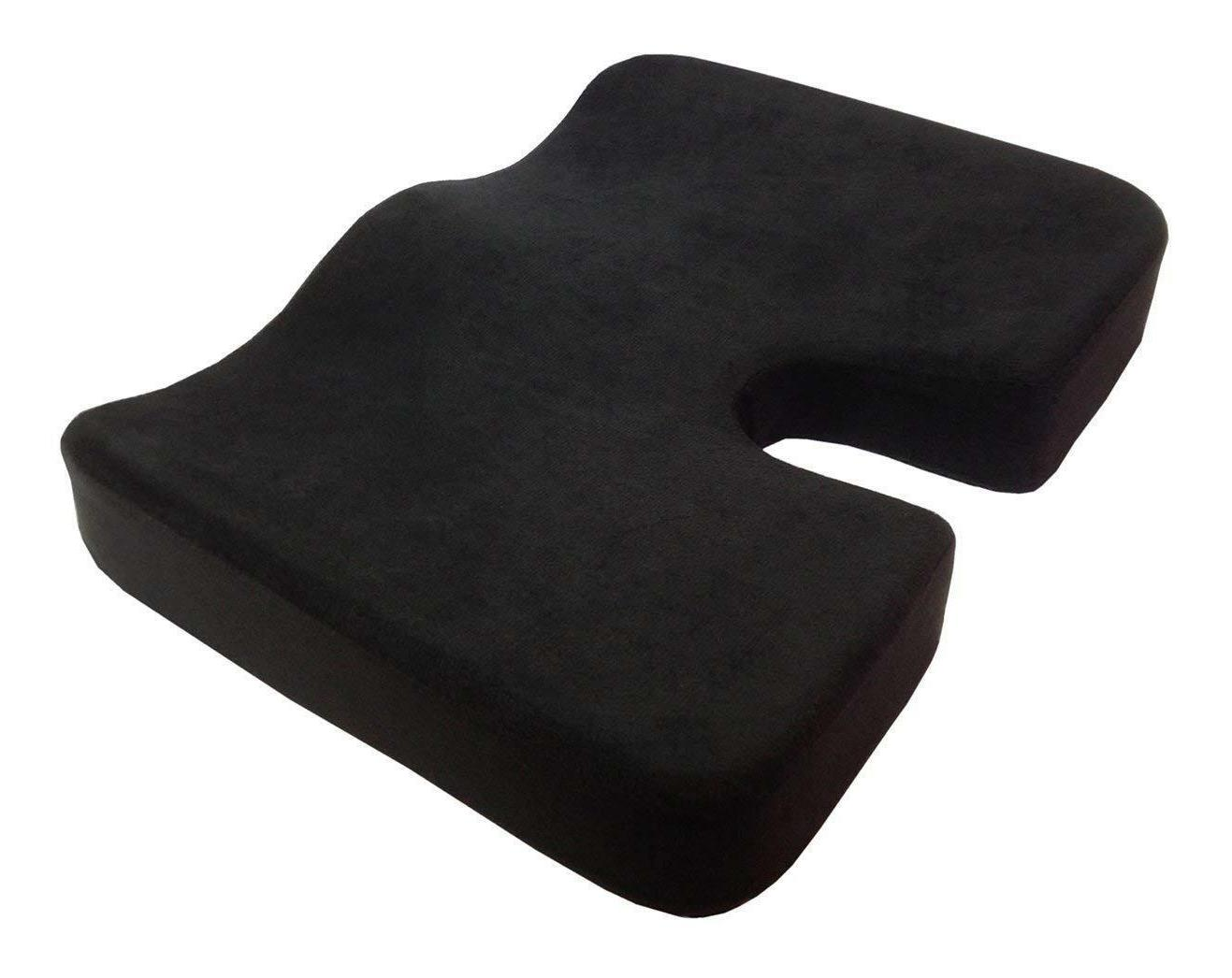 Kieba Coccyx Seat Cushion, Cool Gel Memory Large