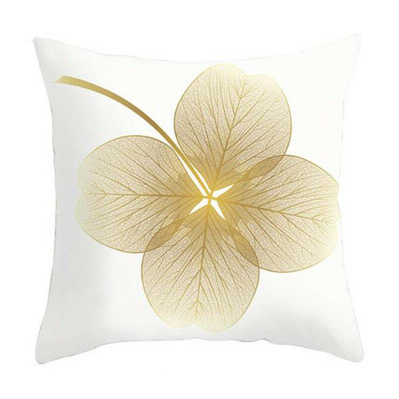 """Leaves Seat Waist Pillow Case Home 18x18"""""""