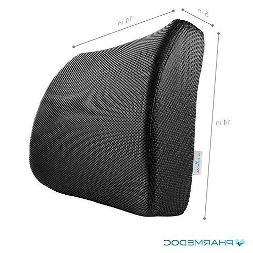 PharMeDoc Pillow - Chair Car Seat Cushion wi