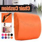 Lumbar Back Support Cushion Travel Pillow Memory Foam Car Se