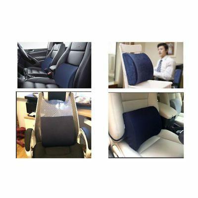 Lumbar Cushion Back Support Memory Car Seat Home Chair