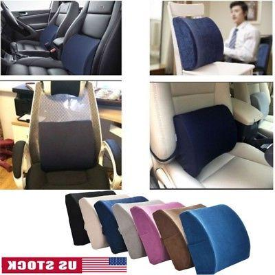 lumbar cushion back support memory foam travel