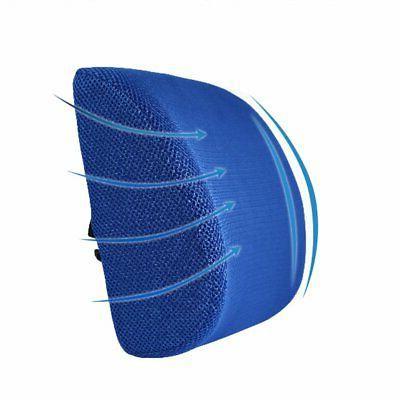 Lumbar Cushion Travel Foam Car Seat US